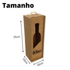 Porta Vinho MDF Wine